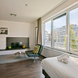 bbf serviced studio apartment at waterview residence on the brussels canal