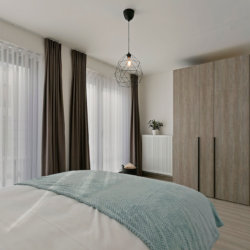 b-square two bedroom apartment withspacious master bedroom with wardrobe