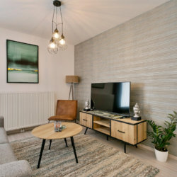b-square two bedroom apartment with cable television