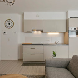 b-square two bedroom apartment with fully equipped kitchen