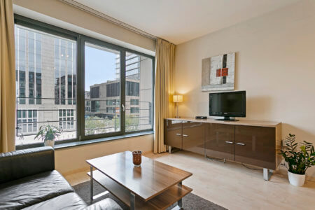 furnished apartment with cable television in brussels city