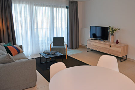 Livingroom- One bedroom apartment (Arcadia)