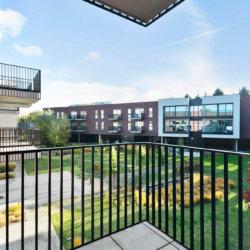zilverhof one bedroom apartment with garden views