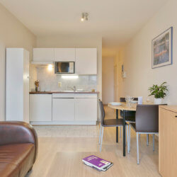 Living room Dunant Gardens Studio Apartment Brussels