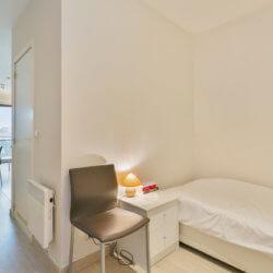 Bedroom Dunant Gardens Studio Apartment