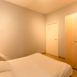 dunant gardens one bedroom apartment master bedroom with wardrobe