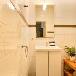 dunant gardens one bedroom apartment bathroom sink