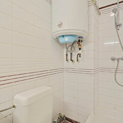bathroom with bi-weekly cleaning