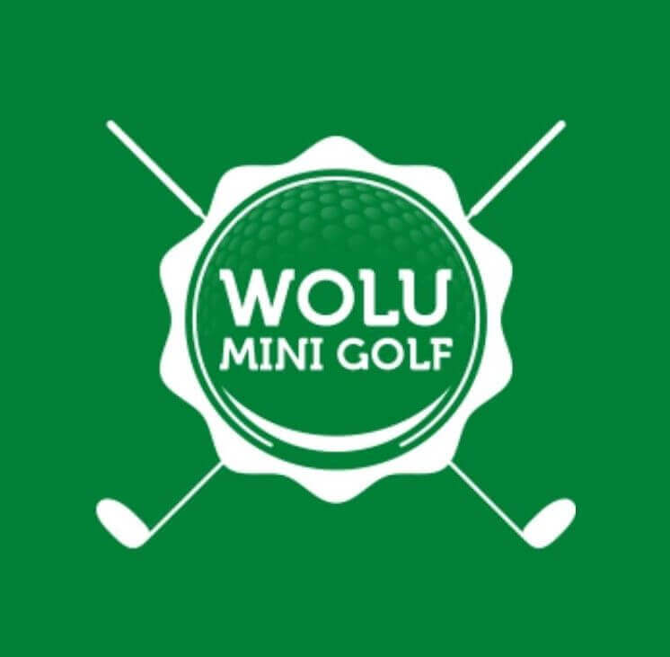 logo of wolu mini golf in woluwe saint lambert