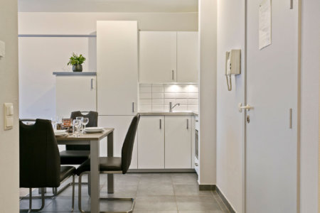 bbf serviced apartment with fully equipped kitchen