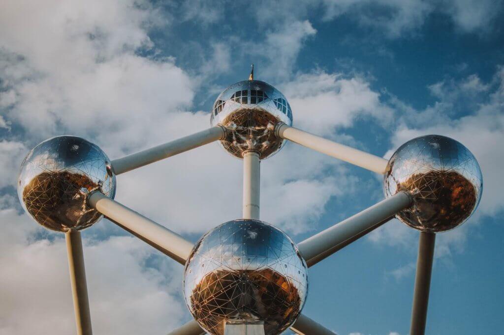the atomium structure in brussels belgium