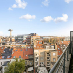 balcony view from one bedroom bbf serviced apartment