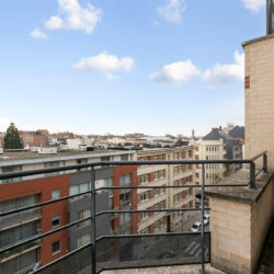 balcony view in two bedroom furnished apartment in european quarter