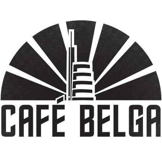 cafe belga bar on place flagey near BBF Apartments