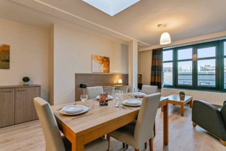 dining table in serviced two bedroom apartment
