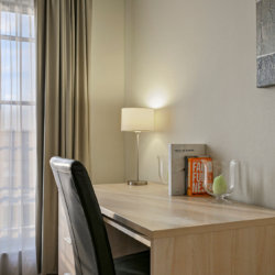 work desk for working from home in bbf apartment