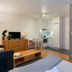 serviced and furnished apartment one minute from the european commission brussels
