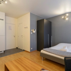 fortnightly cleaning in furnished studio apartment next to the european commission