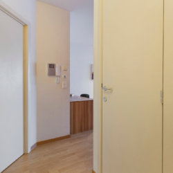 hallway in serviced two bedroom apartment next to european commission