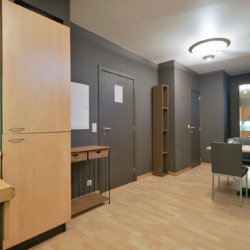 enrance to two bedroom serviced bbf apartment in jubelpark residence