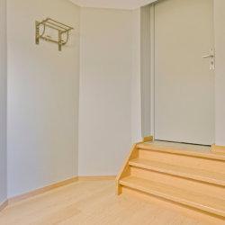 entrance to spacious studio apartment walking distance to european commission
