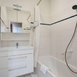 bbf serviced apartment bathroom with shower and bath