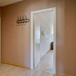 entrance to two bedroom apartment in louise brussels