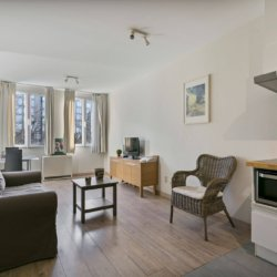 one bedroom serviced apartment living room