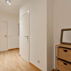 entrance to two bedroom furnished apartment near bois de la cambre