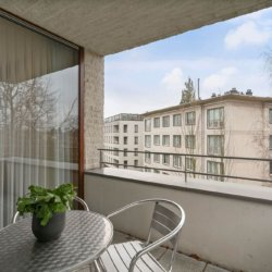 balcony in serviced two bedroom bbf apartment