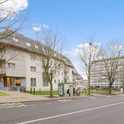 external facade of bbf west park residence